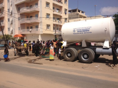 Touba : Pénurie d'eau à Darou Marnane