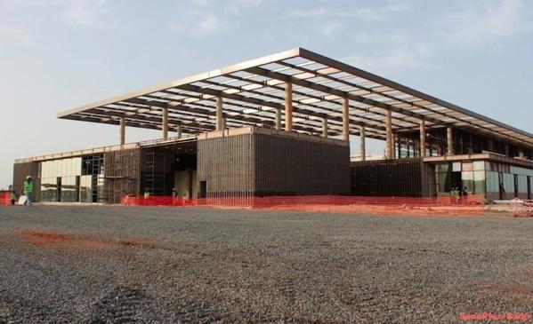 Les travaux du Centre international de conférence de Diamniadio en phase terminale