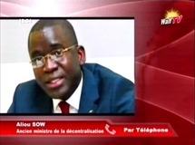 Fermeture de l'Ucad : Aliou Sow en phase avec Thierno Madani Tall