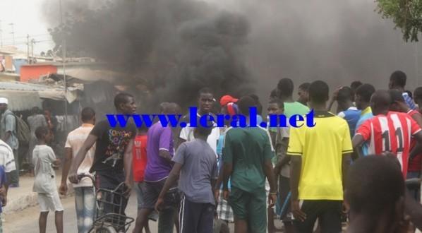 Affrontements à Yoff : des pêcheurs brûlent une mosquée