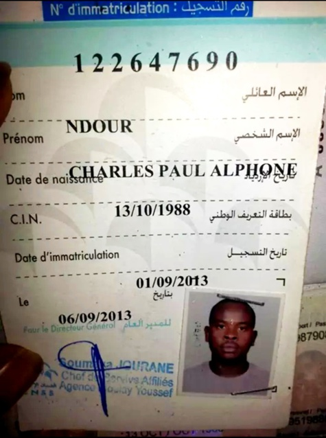 Assassinat du Sénégalais au Maroc: Le mouvement justice pour Charles Ndour accuse l'Etat et exige la lumière