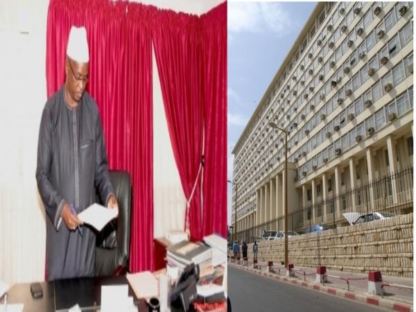 """Abdou Latif Coulibaly, sur la réhabilitation du building administratif : """"L'Etat a procédé à un appel d'offres restreint et légal"""""""