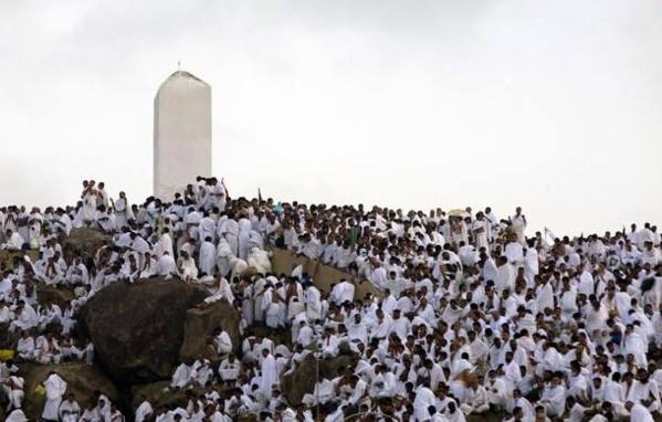 Vendredi de prières et de sermons  à la Station d'Arafat