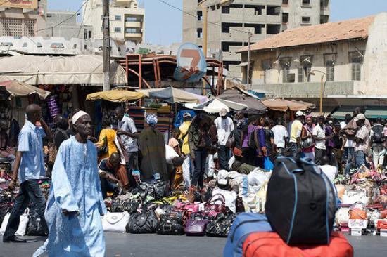 Les marchands ambulants reviennent à Sandaga et environs