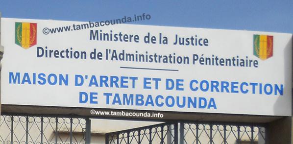 Tambacounda : Des gardes pénitentiaires tirent sur 2 détenus qui tentaient de s'évader