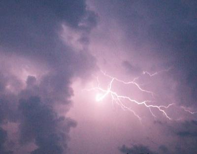 Orages et pluies annoncés à partir de cet après-midi