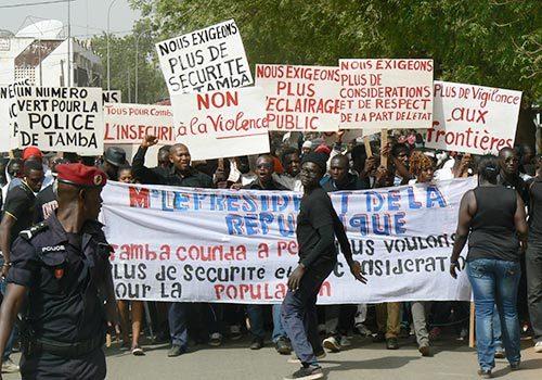 Mort d'un détenu à la Mac de Tamba : La population en colère dans la rue
