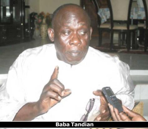 "Baba Tandian: ""La Première dame doit ignorer les attaques contre sa fondation"""