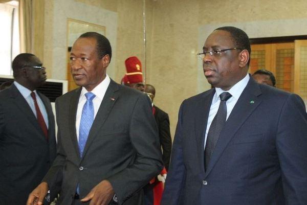 """Candidature contreversée de Blaise Compaoré en 2015 : Macky """"s'immisce"""" encore dans les affaires internes du Burkina"""