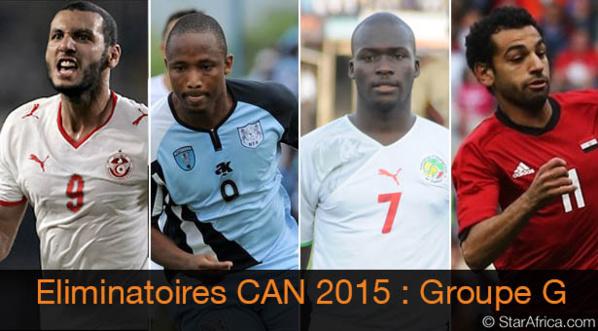 CAN-2015 : Sénégal-Tunisie, point d'orgue la troisième journée des éliminatoires