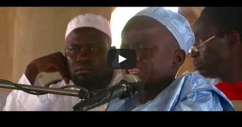 [VIDEO] Ousmane, 10 Ans, Pleure En Pleine Récitation Du St Coran