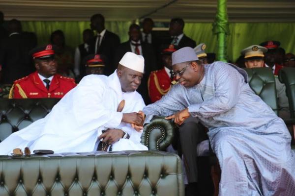 """Jammeh à Macky :""""Seule la paix peut régner entre la Gambie et le Sénégal"""""""