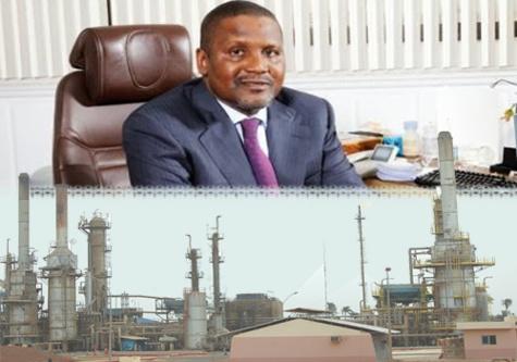 Après le ciment de Pout : Dangote veut la SAR dans son tanker