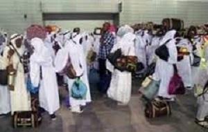Cérémonie d'accueil des pèlerins de retour de La Mecque, cet après-midi