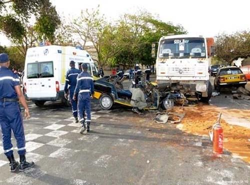 Tambacounda : un accident de circulation fait un mort et 3 blessés graves à Sinthiou Bolèle