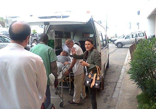 Evacué à Paris, Bibo Bourgi retrouve son père