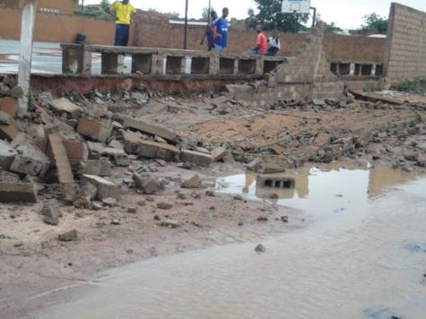 Tambacounda : Un vent violent fait de nombreux dégâts