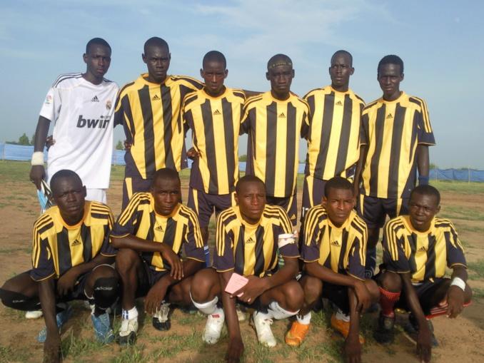 """Voici l'équipe de """"Thiancone Hiraye"""" finaliste du tournoi """"Danthiady"""" 2014"""