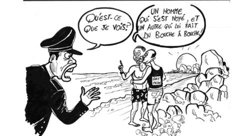 """Rufisque : Deux pédés surpris en pleins ébats à la plage de """"Keury Souf"""""""