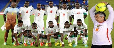 Préparation des matchs contre égypte et Botswana