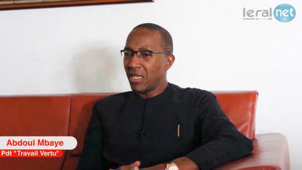 """A suivre En Direct sur Leral.net: Abdoul Mbaye lance les activités de """"Travail et Vertu"""""""
