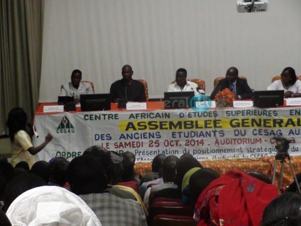 Revivez l'Assemblée générale des anciens étudiants du CESAG au Sénégal
