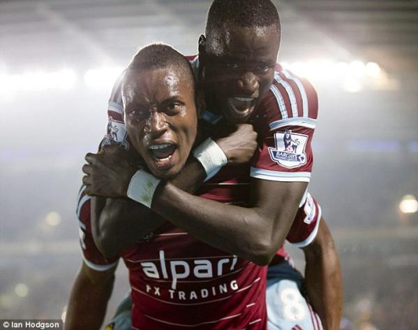 Diafra Sakho marque son 6-ème but en Premier league
