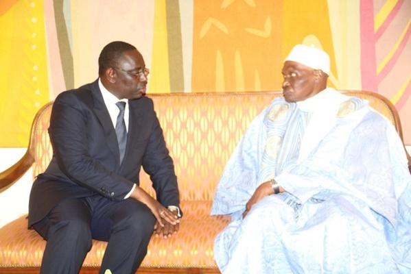 "Macky Sall : ""Ma gratitude pour Me Abdoulaye Wade"""