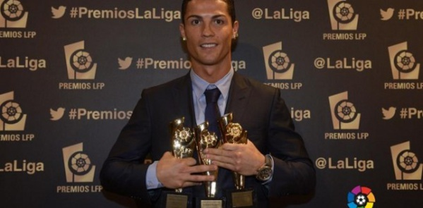 Liga 2014: Ronaldo meilleur joueur, Simeone meilleur coach, Brahimi meilleur africain