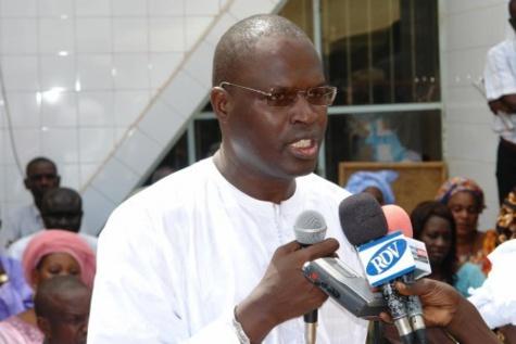Condoléances: Khalifa Sall, Bara Tall et Modou Lô chez Thierno Bocoum
