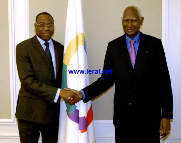 Préparatifs du Sommet de la Francophonie: Mankeur Ndiaye reçu par Abdou Diouf à Paris (Photos)