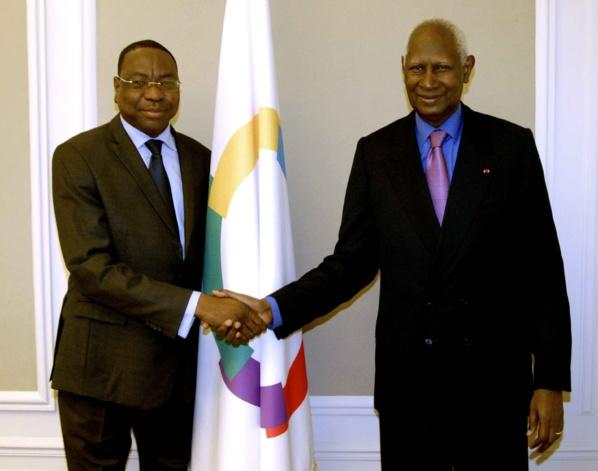 Mankeur Ndiaye s'entretient avec le Président Abdou Diouf