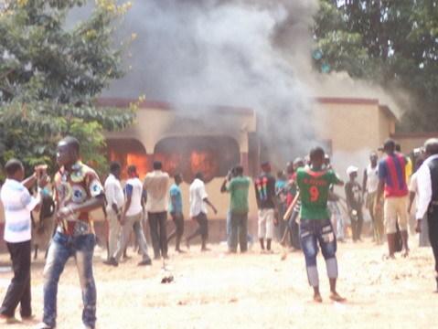 Désobéissance civile : Des dégâts importants à Banfora