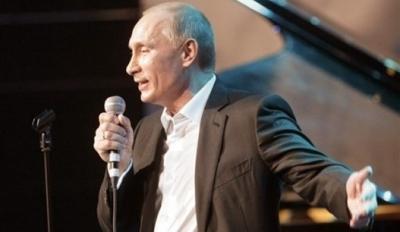 """Vladimir Poutine chantant dans """"The Voice"""" !"""