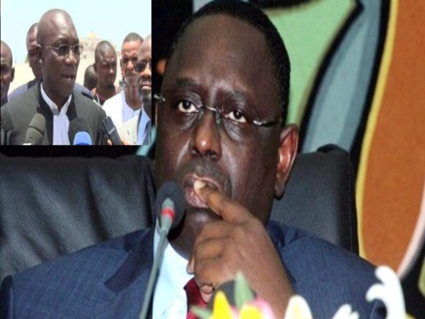 """Me Amadou Sall sur la menace d'emprisonnement de Wade : """"Que Macky Sall sache que toucher à un seul de ses cheveux si rares équivaut à leur arrêt de mort"""""""