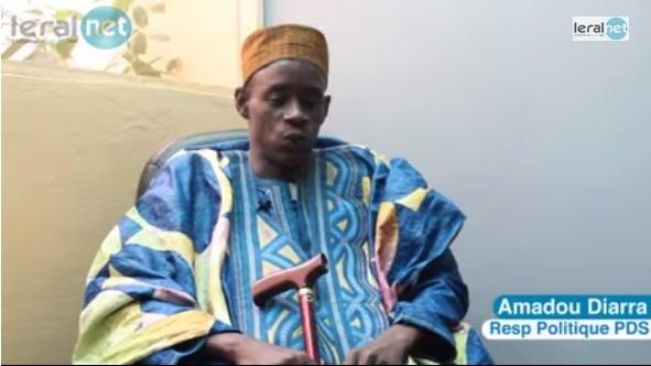 """Marche des Libéraux le 21 novembre : Amadou Diarra qualifie ses frères de parti de """"peureux"""""""