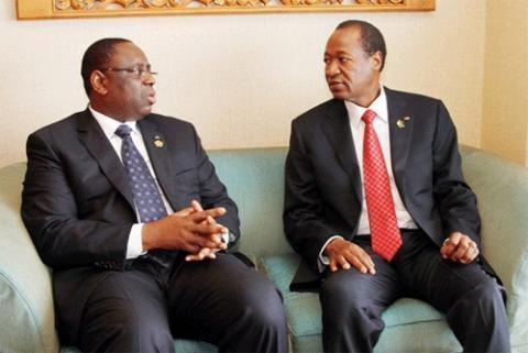 """Macky Sall sur son prétendu soutien à Blaise Compaoré : """"tout cela n'est qu'affabulation et commentaire jeté dans la presse"""""""