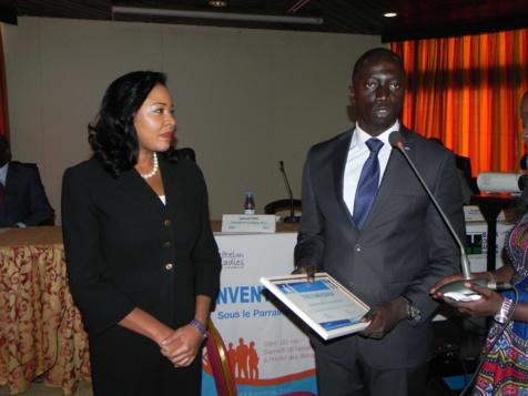 Distinguée par la Jeune Chambre Internationale Dakar N°1 comme Ambassadrice, Léna Sène plaide pour la formation des futures femmes leaders