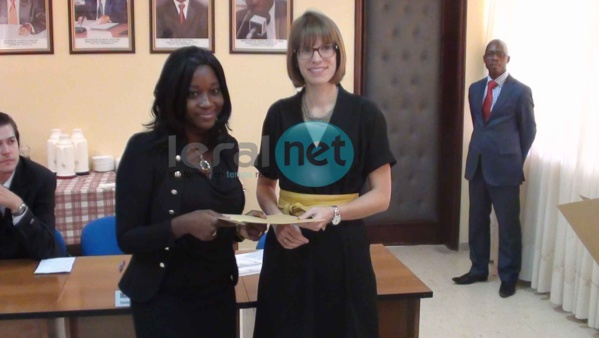 Photos+Vidéos: Cérémonie de remise de bourses d'excellence par l'Office Allemand d'Echanges Universitaires (DAAD)