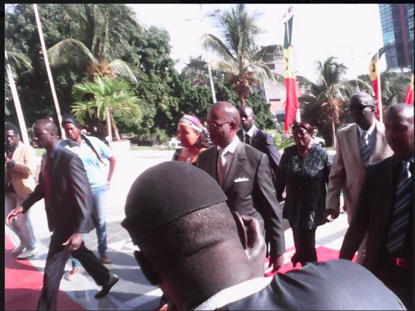 'Il n'y a pas d'arrêté suspendant la liberté de manifester', selon Mahammed Dionne