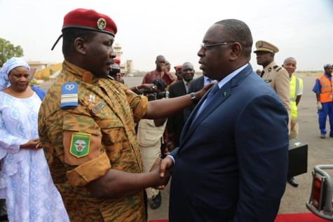 Burkina Faso: Macky Sall optimiste sur la mise en place rapide de la transition