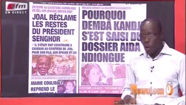 Revue de presse du mercredi 12 novembre 2014 - Tfm