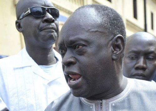 """Me El Hadj Diouf sur le limogeage d'Alioune Ndao : """"Le vrai problème, c'est Bibo Bourgi"""""""