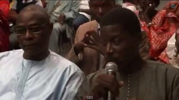 Vidéo - Le discours émouvant de Talla Sylla rendant hommage à son fidèle compagnon Abdoulaye Diouf