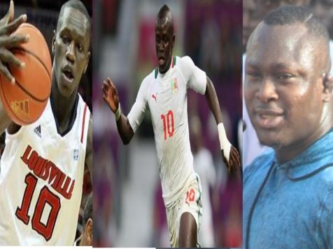 Modou Lô, Gorgui Sy Dieng et Sadio Mané nominés parmi les meilleurs sportifs 2014