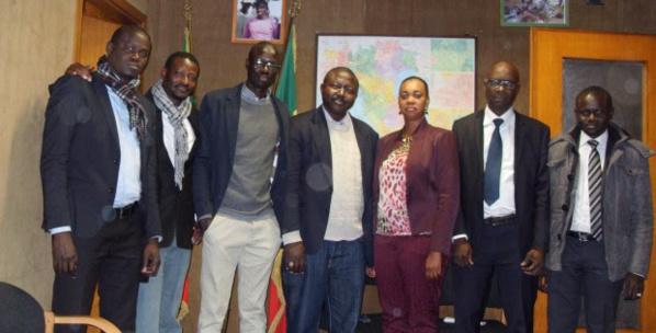 ITALIE: Rokhaya Ba Touré, consul général du Sénégal à Milan reçoit la famille des professionnels de la presse et de la communication.
