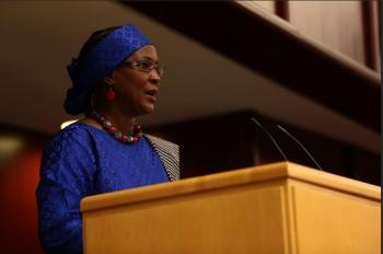 Aminata Sow Sidibé- Ambassadeur pour la protection sociale en faveur de l'enfance d'Afrique