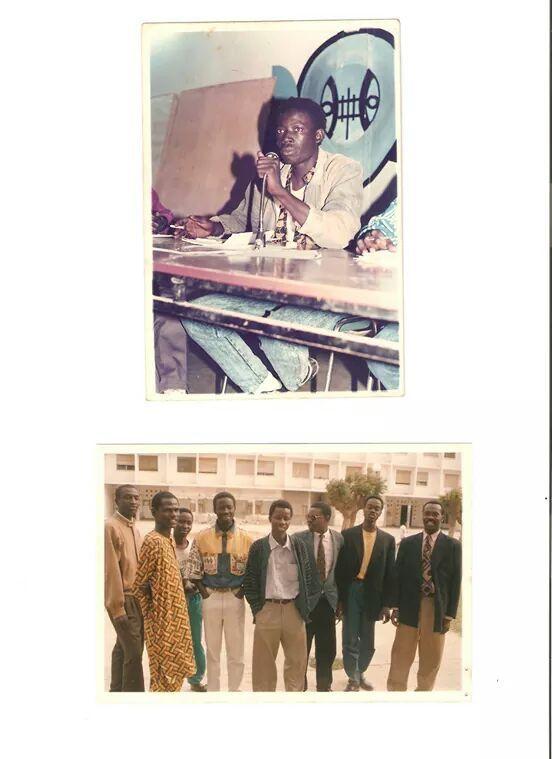 « Responsabilité du mouvement étudiant face aux crises de l'école sénégalaise » Camarades de toutes les générations du mouvement étudiant