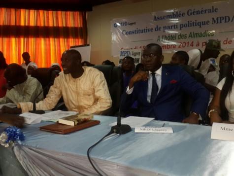 Assemblée générale de parti politique MPD/Liggeey avec le Docteur Aliou Sow candidat à la présidentielle de 2017