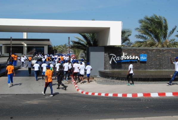 La randonnée pédestre de l'Amicale de l'hôtel Radisson Blu Dakar
